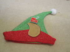 Elf hat with ears Christmas holiday funny gag gift new with tags