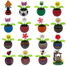 Solar Flower Dancing Flower Insect Soccer Ball Scarecrow Toys Flip Flap