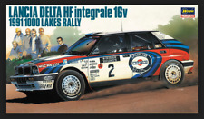 Lancia Delta HF Integrale 16v 1991 1000 Lakes Rally20289 Hasegawa 1/24 Model Kit