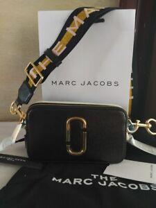 NWT MARC JACOBS  SNAPSHOT SMALL CAMERA  New black multi sales