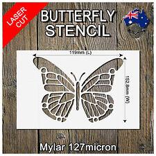 Stencils Crafts Templates Scrapbooking Butterfly Stencil - Mylar