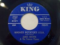 James Brown Mashed Potatoes USA / You Don't Have To Go 45 King Vinyl Record