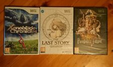 Brand New Sealed Xenoblade, Last Story, Pandora's Tower Bundle Nintendo Wii PAL