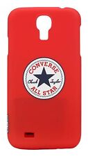 Coque de protection CONVERSE ALL STAR ROUGE pour Samsung Galaxy S4
