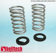 """Belltech 04-13 Chevy Colorado/Canyon Ext/Quad Cab 4&5 cyl 1""""/2"""" Lowering Springs"""