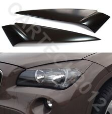 Fits BMW X1 E84 2009-2015 Headlights  Eyebrows ABS PLASTIC, TUNING