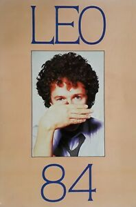 Leo Sayer 1984 Official Tour Brochure Programme.Features Band Profiles And More.