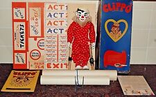 "1938 ""Clippo"" The Little Clown & His Puppet Show (Posters, Tickets & Programs)"