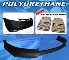 FOR HONDA CIVIC 06-08 4DR T-RA FRONT BUMPER LIP + DICKIES FLOOR MAT TAN