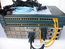 Cisco CCIE Core Starter Lab 3x 2600XM 32/64 12.4 2x3560-24PS-S CCIEStart1