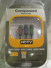 Belkin Component Video Cable. HDTV Video. 12 ft. Brand New. P47920.