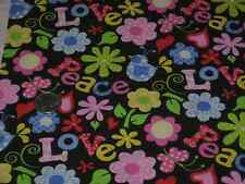 "OOP! ""PEACE AND LOVE"" - FABRIC TRADITION - BTY"