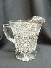 IMPERIAL GLASS  CAPE COD -  Footed Pitcher - Milk Pitcher  Holds 1 PINT