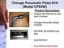 Chicago Pneumatic Pistol Drill Model CP9298