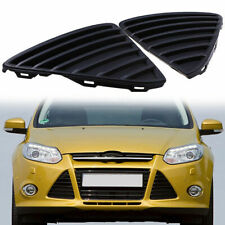 2Pcs For 2011-2014 Ford Focus Front Black Bumper Lower Grille Insert CP9Z17K946B