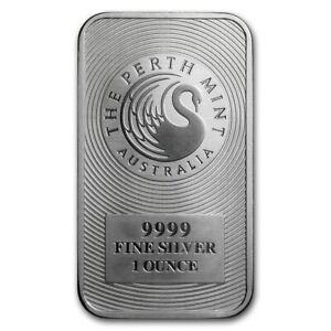 The Perth Mint Australia - Silberbarren 1 Unze