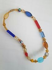 Beautiful multi Beads Anklet, Free Uk P&P