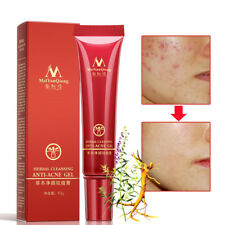 Herbal Cleansing Gel Anti Acne Treatment Cream Scar Removal Oily Skin Acne Spots