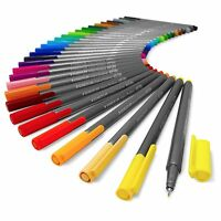 Staedtler Triplus Fineliner Pens - Metal Gift Tin of 30 Brilliant Colours 0.3mm