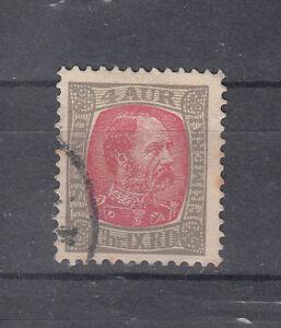 Briefmarken Island 1902 König Christian Mi.Nr. 36