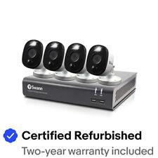 Swann reformado 4 cámaras y 4 canales 1080p Full HD DVR sistema de seguridad
