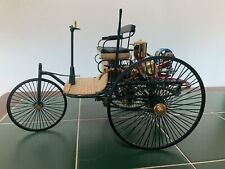 Franklin Mint 1:8 scale 1886 Benz Patent MotorWagen Die Cast Precision Model