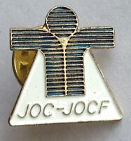 Joc-Jocf Small Pin Badge Rare Vintage Advertising (F8)