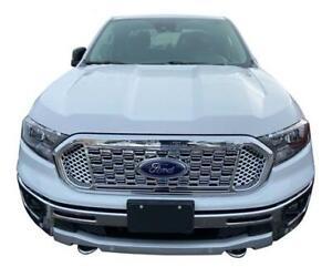 Chrome Grille Overlay Cover Insert FOR 2019 2020 2021 Ford Ranger XL / XLT