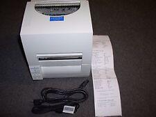 #S6 Citizen CLP-631 JM23-M01 Label Printer W/USB Cable & Power Cord & Test Print