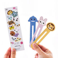 30Pcs Animal Paper Bookmarks Book Holder Stationery Kids Gift School  New.