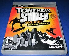 Tony Hawk: Shred Sony PlayStation 3 *Factory Sealed! *Free Shipping!