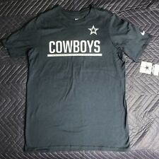 BOYS/GIRLS YOUTH NIKE DALLAS COWBOYS T SHIRT LARGE L NAVY