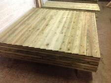 Fence panels, feather edge, close board,  pressure treated
