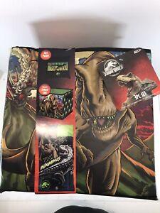Jurassic World Combo Set with Sleeping bag, Storage Cube and Bonus Pillow NEW!