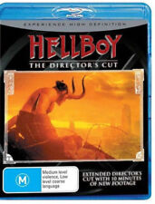 Hellboy - Director's Cut (Blu-ray, 2007) Ron Perlman, Slema Blair [Like New]