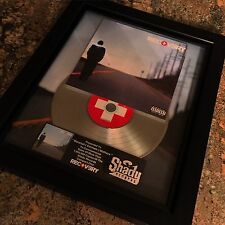 Eminem Recovery Platinum Record Disc Album Music Award MTV Grammy RIAA