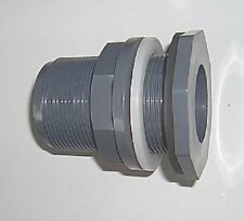 """PVC-Durchführung  1""""AG  Gewindelänge: 60mm"""