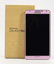 "open box-samsung galaxy note 3 pink n9005 (factory unlocked) 5.7"" full hd"