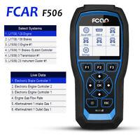 FCAR F506 Heavy Duty Truck & Car Obd2 Diagnostic Hd Code Reader Diesel Scanner