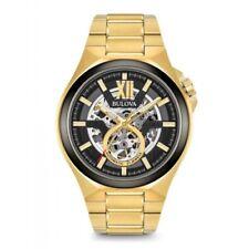 Orologi da polso Automatic con cinturino in placcato oro