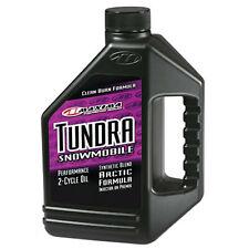 Maxima Racing Oils Tundra Snowmobile 2-Stroke Oil - 1 Liter - 24901 - 12 Pack