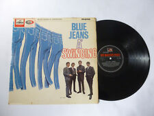 THE BLUE JEANS A' SWINGING ~ 1964 UK MONO 1ST PRESS BEAT VINYL LP ~ PLAYS TIDY