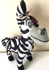 "Madagascar 3 MARTY THE ZEBRA 14"" Licensed Plush Stuffed Animal .NEW. Dreamworks."