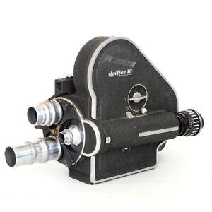16 mm Filmkamera DOIFLEX jap. Arriflex mit Motor +Koffer Cine Movie Camera RAR