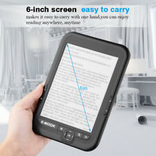 "6"" Touch 800x600 E-Ink Screen E-book Reader 4G MP3 Player TF FM USB 29languages"