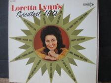 LORETTA LYNN - GREATEST HITS  - 1972- VINYL LP -  DECCA RECORDS BLUE KENTUCKY GI