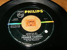 FRANKIE VAUGHAN - HERCULES - I'M GONNA CLIP YOUR  / LISTEN - ROCK JAZZ POPCORN