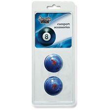 BLUE Pool Snooker Billiard Cue/Table Chalk Holder Rubber Holder VALUE PACK OF 2