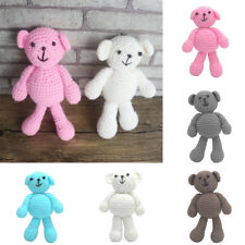 Newborn Baby Girls Boys Photography Prop Photo Crochet Knit Toy Cute Little Bear