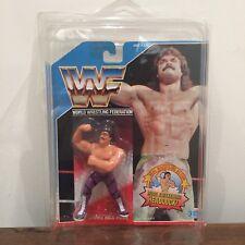 """WWF/WWE """"deslumbrante"""" Rick Rude Hasbro Serie 1990 Figura de Acción 1 si usar En Blister Con Estuche"""